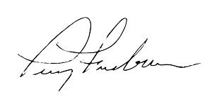 Terry Freeburn Signature