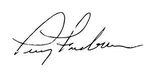 Terry Freeburn Signature